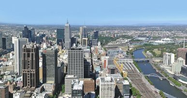 Panorama of Melbourne