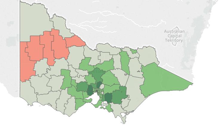 Victorian Population 2016